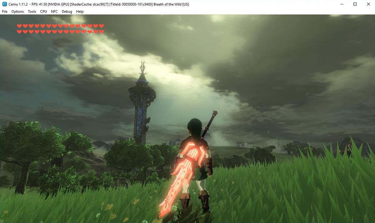 About Playing WiiU Games on PC » Wii U Emulator