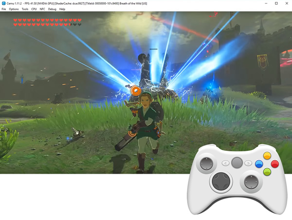 Download Cemu » Wii U Emulator for PC